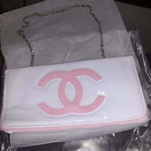 NEW Chanel Beauty Beaute VIP Cosmetic / Clutch Bag